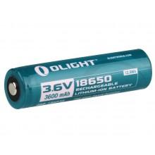 1 x 18650 Genopladelig batteri