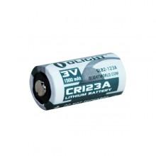 1 x CR123A Lithium batteri