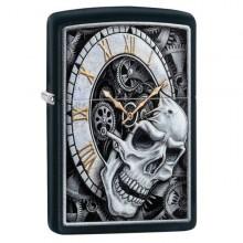 Skull Clock Design