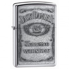 Jack Daniel's Label-Pewter Emblem. High