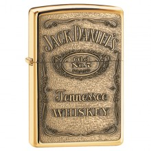 Jack Daniel's Label-Brass Emblem. High P