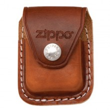 Brown Lighter Pouch w/Clip